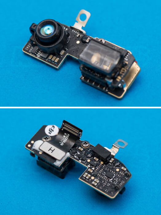 DJI Spark Teardown forward facing vision sensor