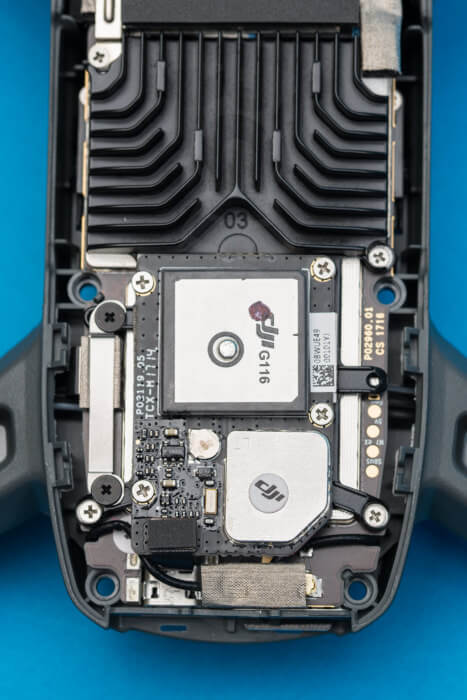 DJI Spark Teardown navigation component board