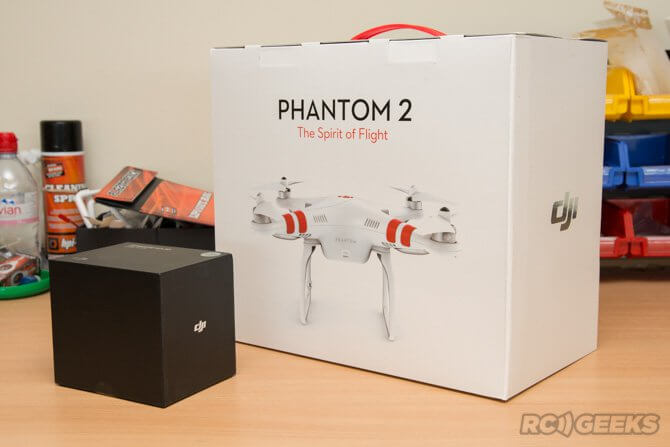Phantom 2 + H3-3D Box