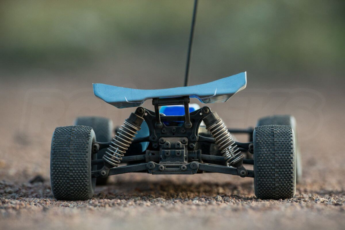 FTX Colt RC remote control buggy review blue rear stationary