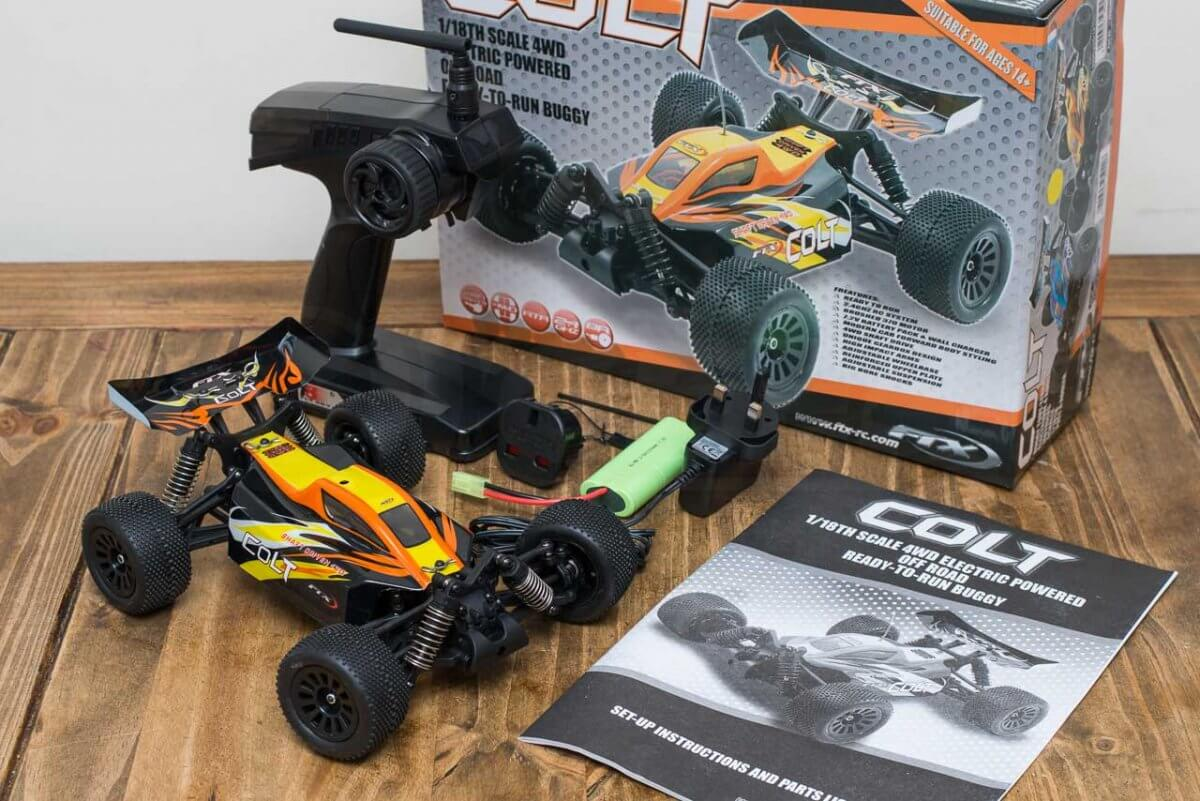 FTX Colt RC remote control buggy review christmas gift unboxed
