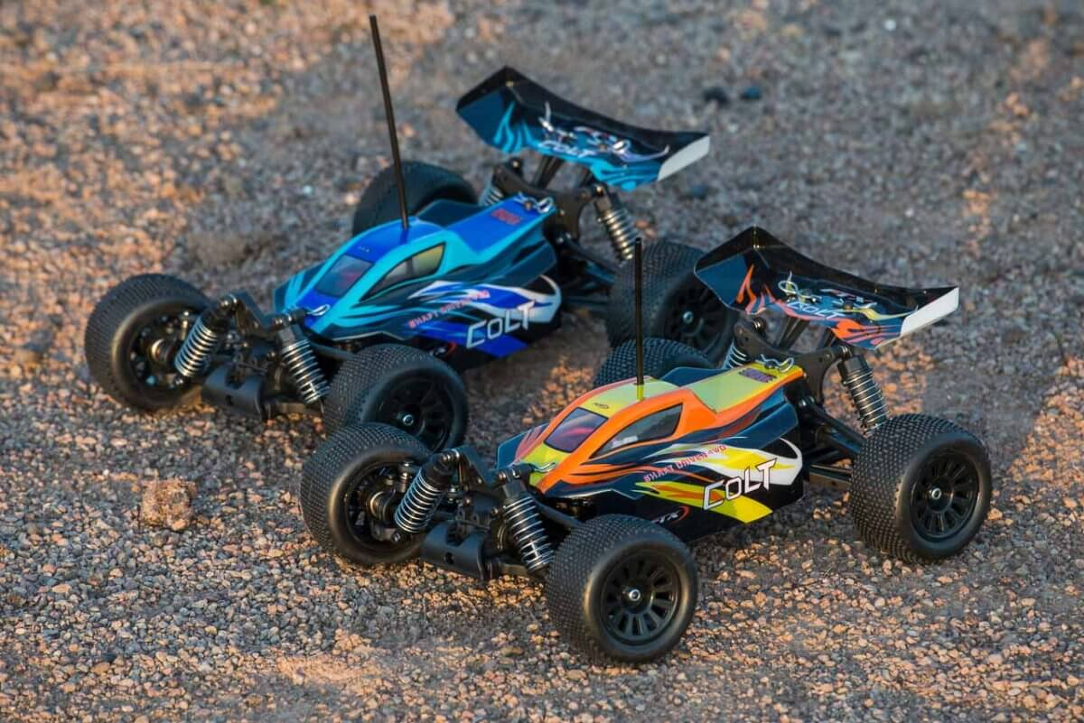 FTX Colt RC remote control buggy review orange and blue