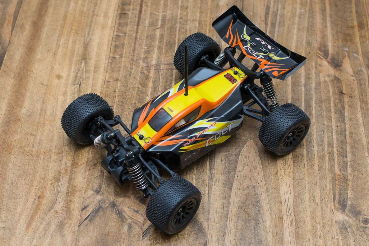 FTX Colt RC remote control buggy review orange body on