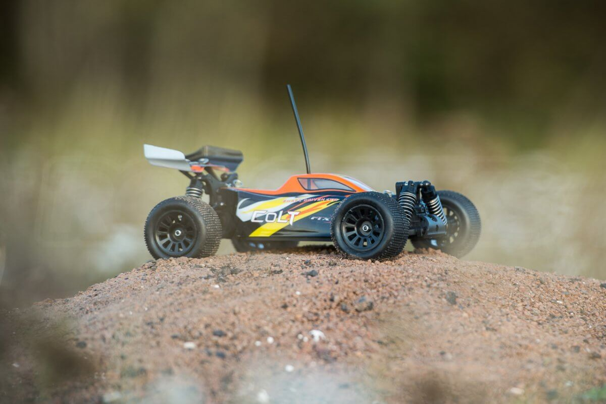 FTX Colt RC remote control buggy review orange through the mist
