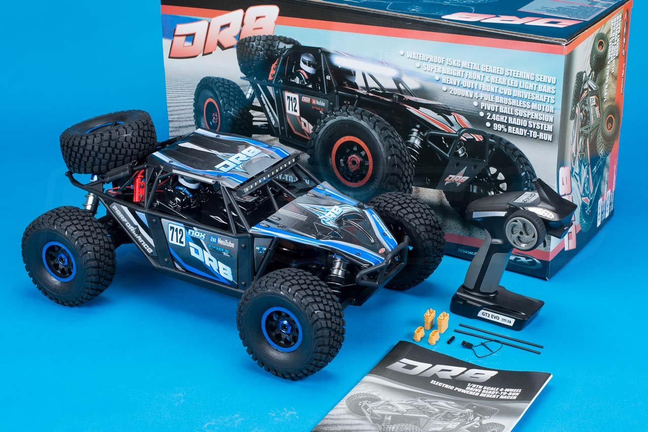 FTX-DR8-6S-Desert-Racer-Review-in-the-box