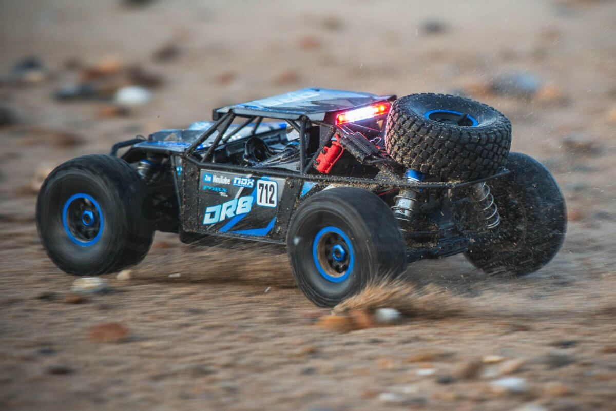 FTX DR8 Review Beach sand driving rear sand fast