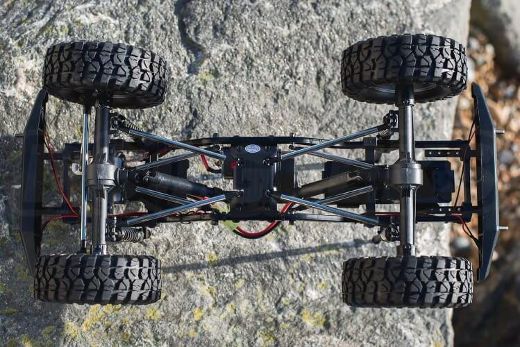 FTX Outback 2 Ranger Chassis base