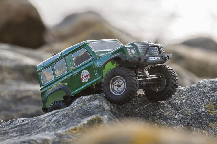 FTX Outback 2 Ranger crawling close