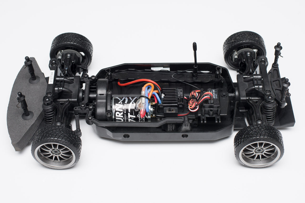HPI Racing E10 Drift Nissan GT-R R34 Review naked chassis