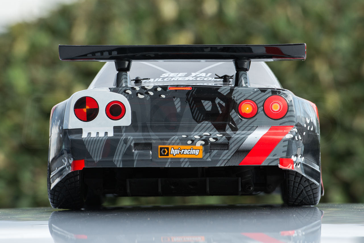 HPI Racing E10 Drift Nissan GT-R R34 Review outdoor body rear