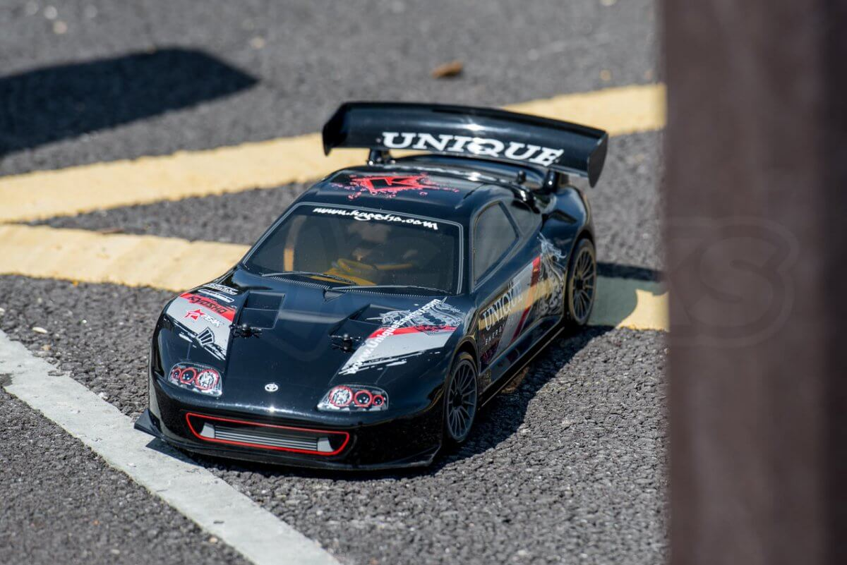 Kyosho Fazer T1 Toyota Supra RC Drift Car Review parked up