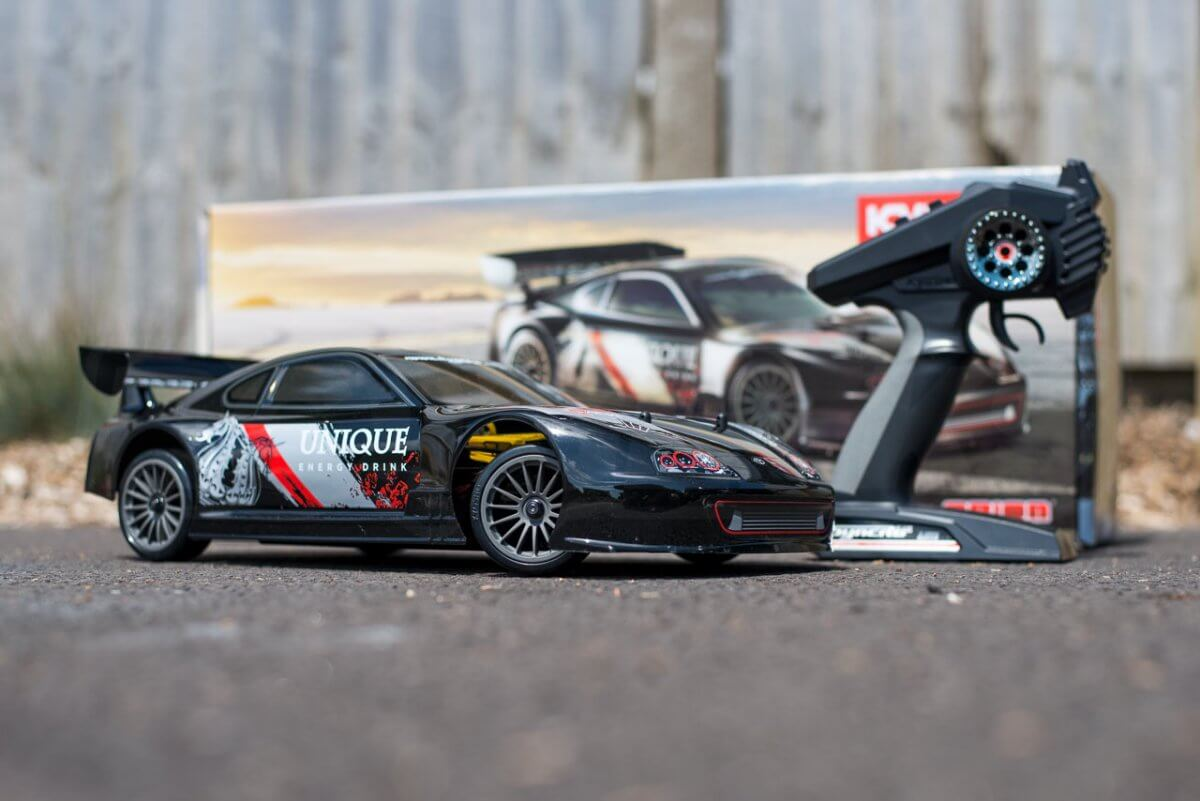 Kyosho Fazer T1 Toyota Supra RC Drift Car Review unboxed