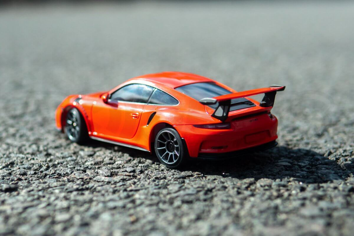 Kyosho Mini-Z Posche 911 Rear left view