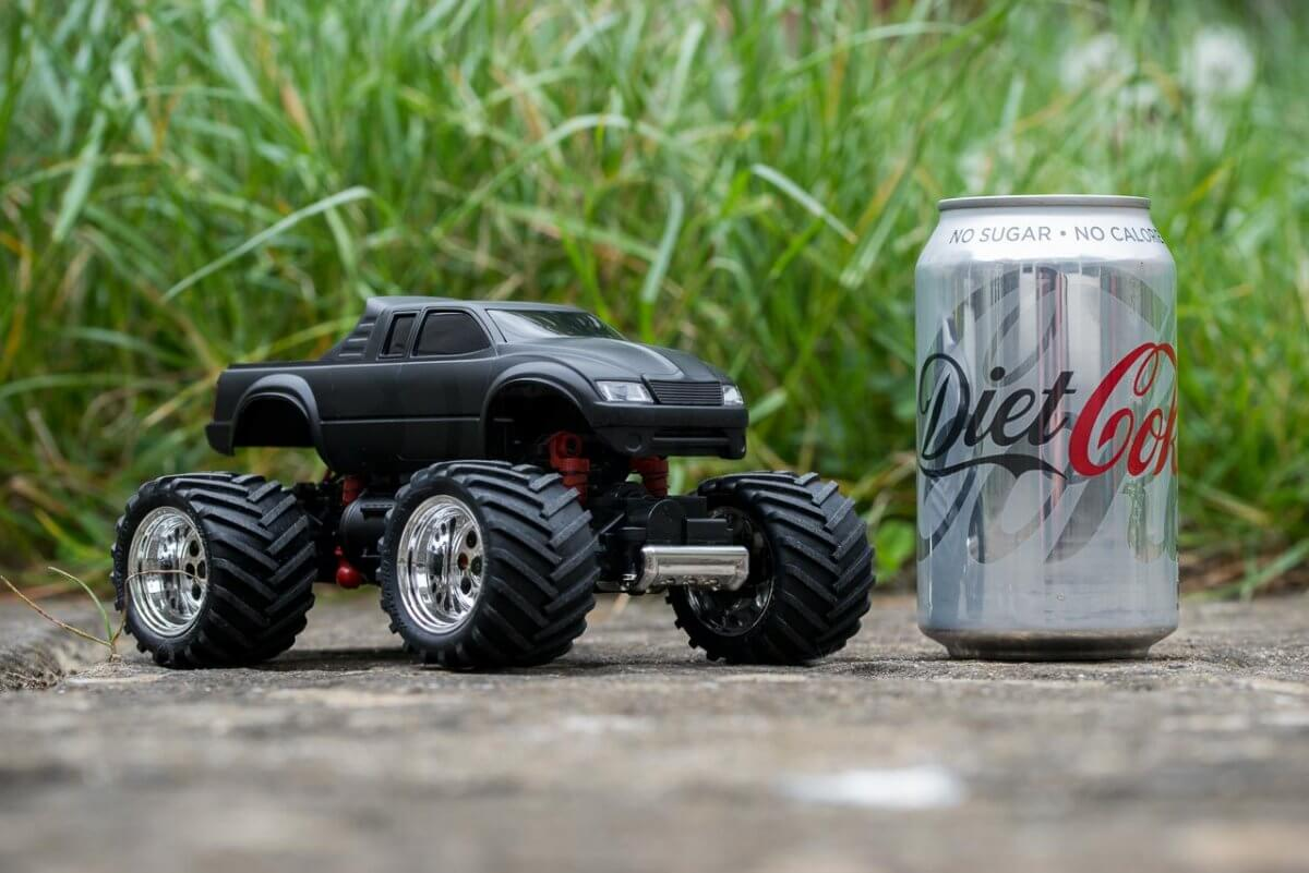 Kyosho Mini z Monster EX Review small scale