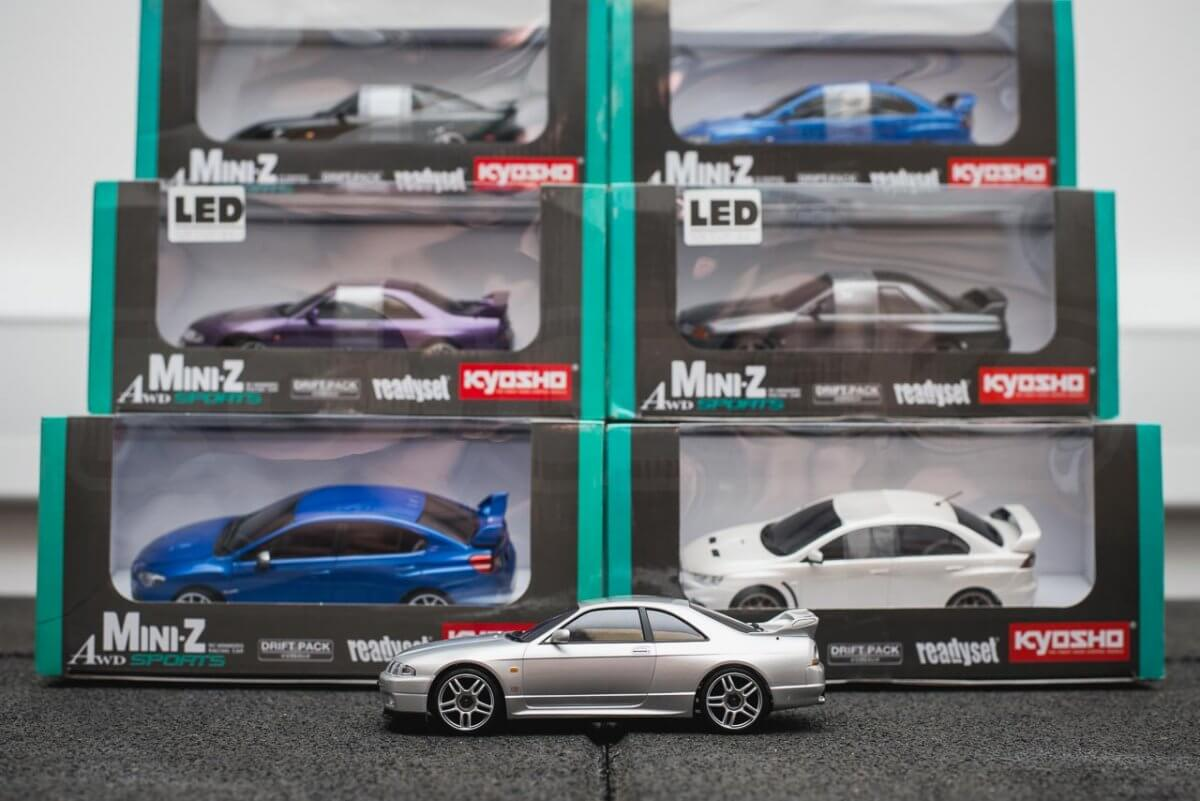 Kyosho Mini-z range rwd awd overview introduction AWD in stock models