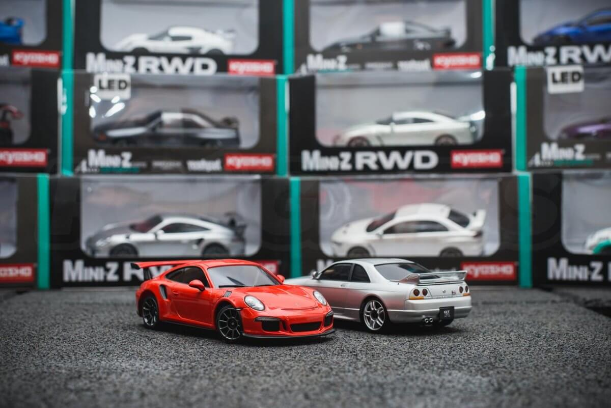 Kyosho Mini-z range rwd awd overview introduction article low dof