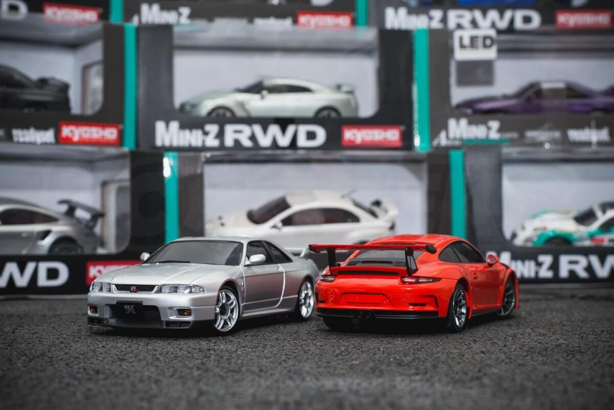 Kyosho Mini-z range rwd awd overview introduction pairing mixed skyline