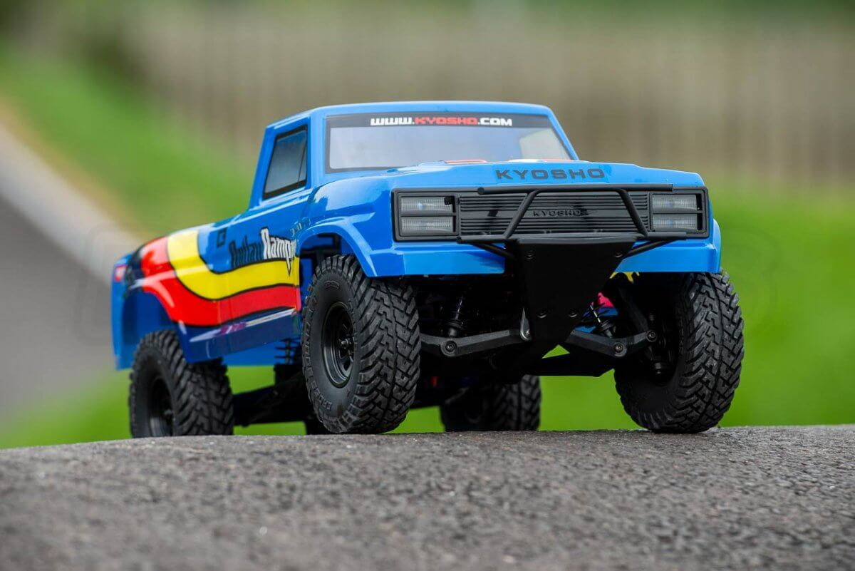 Kyosho Outlaw Rampage Review Front end