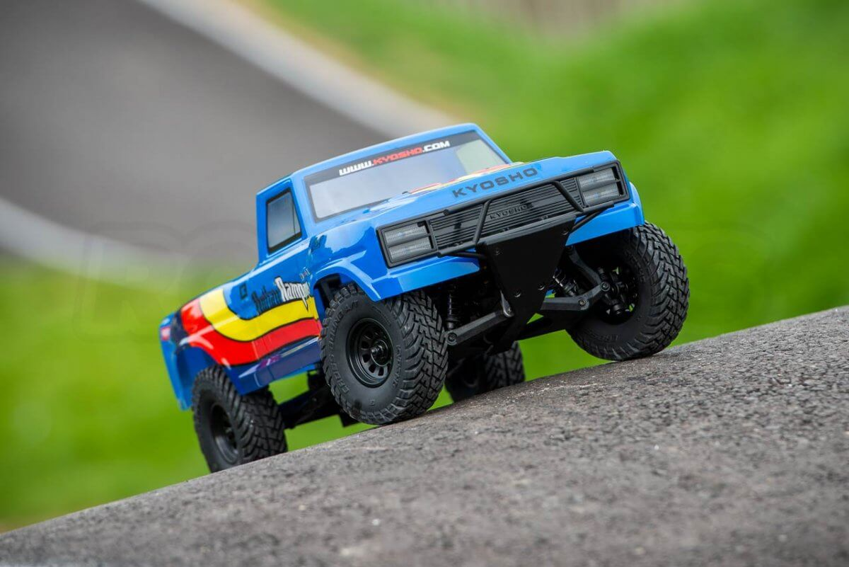 Kyosho Outlaw Rampage Review Front end low insta