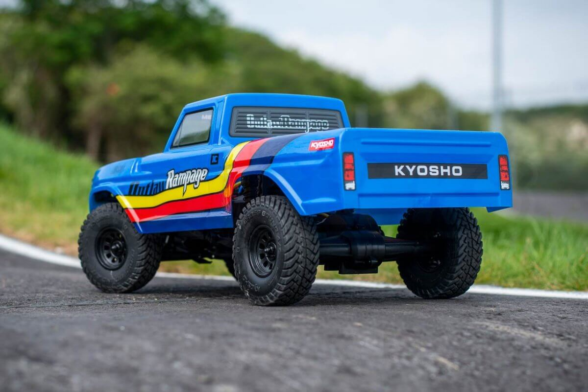 Kyosho Outlaw Rampage Review rear end lower
