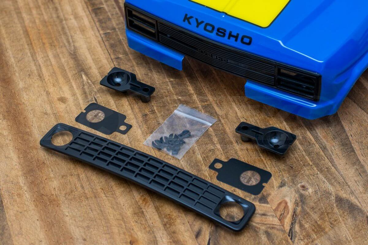 Kyosho Outlaw Rampage Review shell lights stock