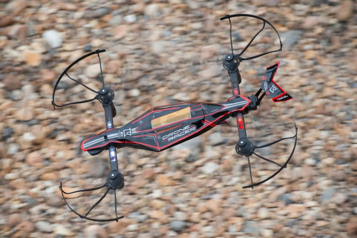 Kyosho Zephyr Force Racing Drone Review speeding along