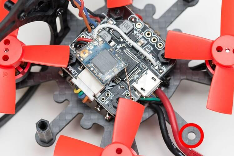 Makerfire Tiny Whoop Binding Amor 67 receiver