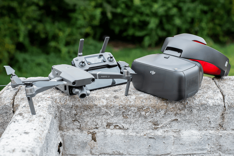 Mavic 2 Expert Review DJI Goggles
