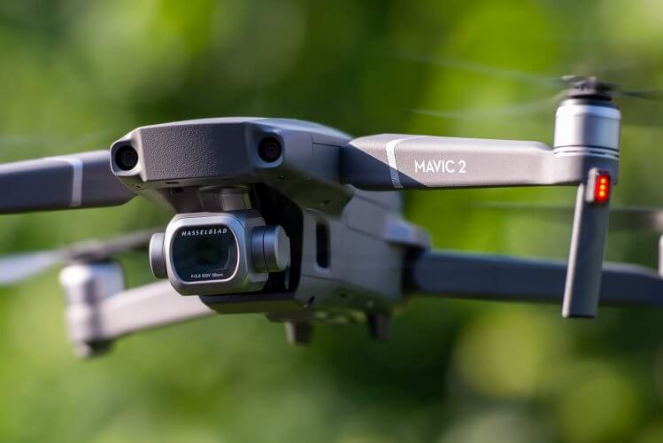Mavic 2 Expert Review pro camera gimbal detail