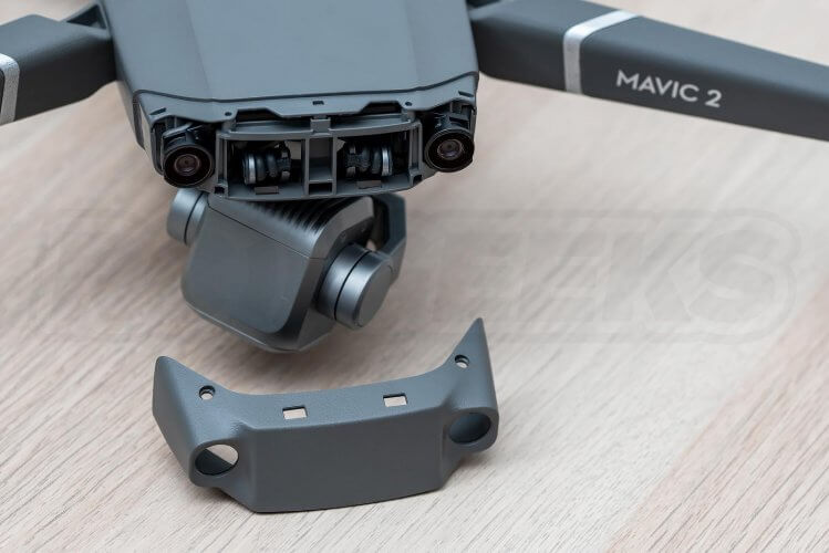 Mavic 2 Pro Teardown nose shell removed