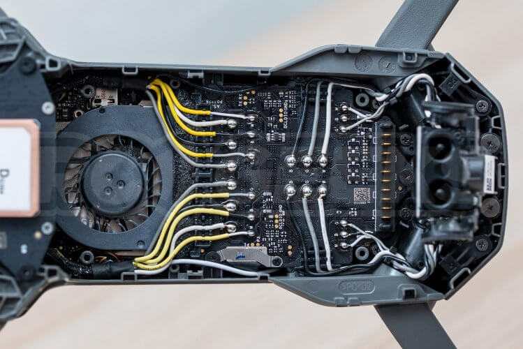 Mavic 2 Pro Teardown power board top