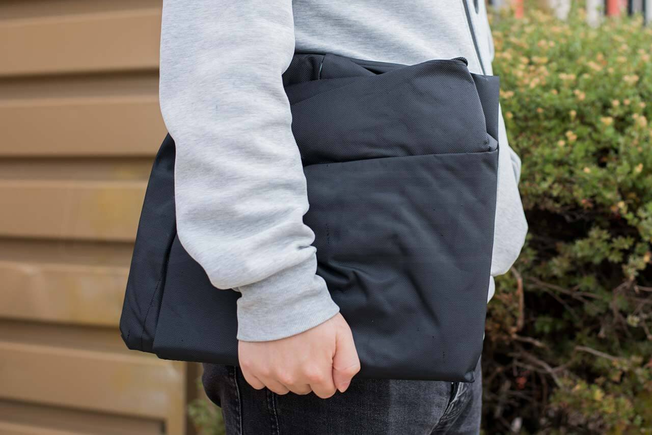 Mi-Electric-Scooter-Accessories-scooter-bag-folded