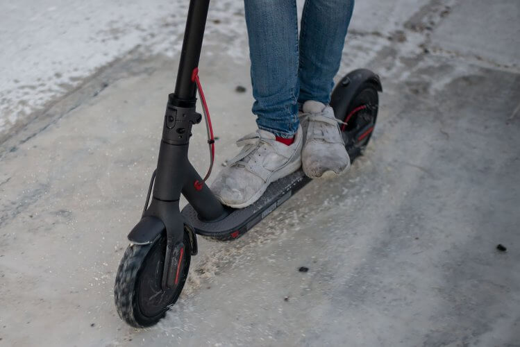 Mi Electric Scooter wet use