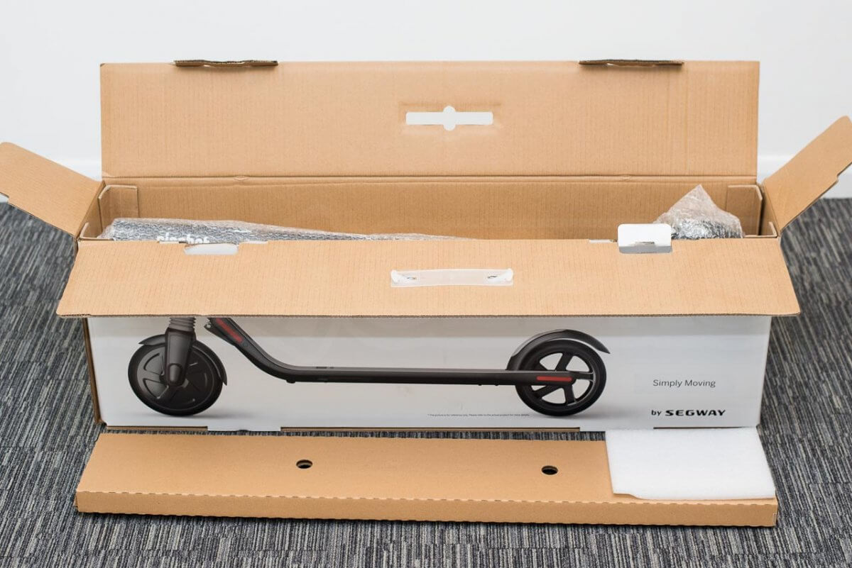 Ninebot ES2 Scooter review unboxing
