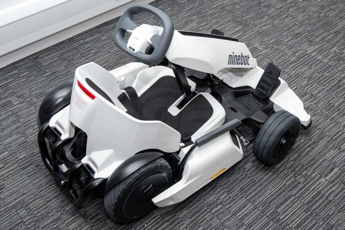 Ninebot GoKart kit review segway out of the box unboxed