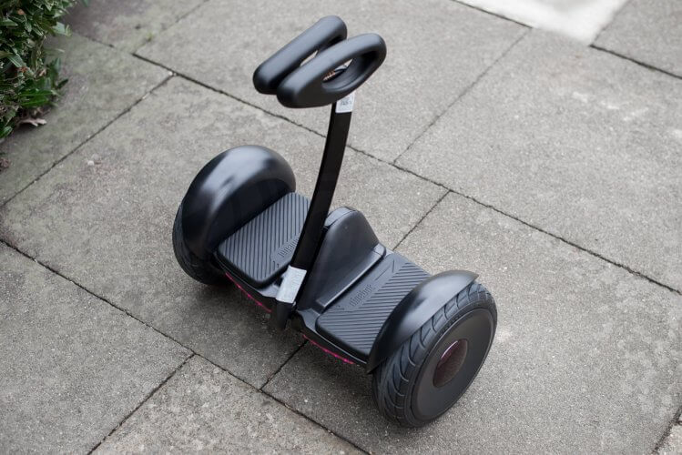 Ninebot Mini Review ready to ride rear right