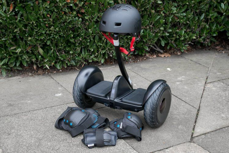 Ninebot Mini Review safety equipment protection