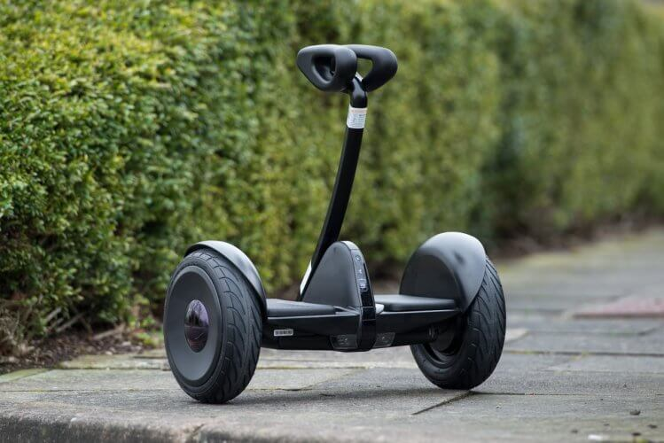 Ninebot Mini Review self balancing scooter front