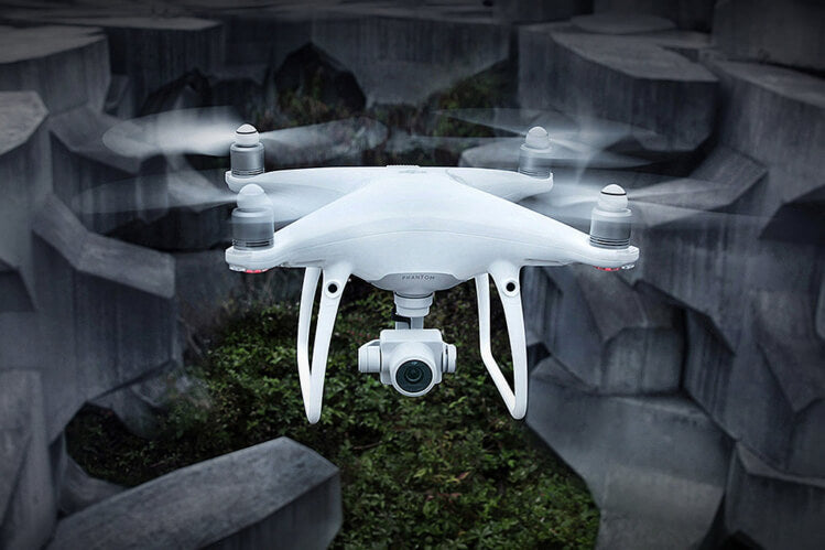 Phantom 4 Advanced in flight