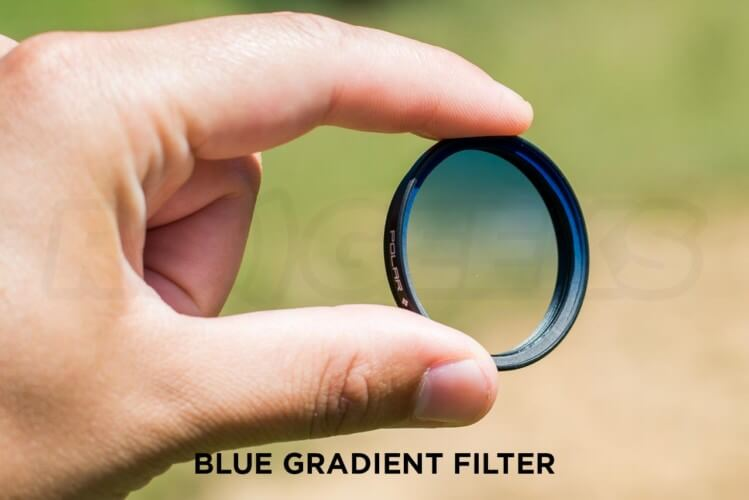 Polar Pro Blue Gradient Filter