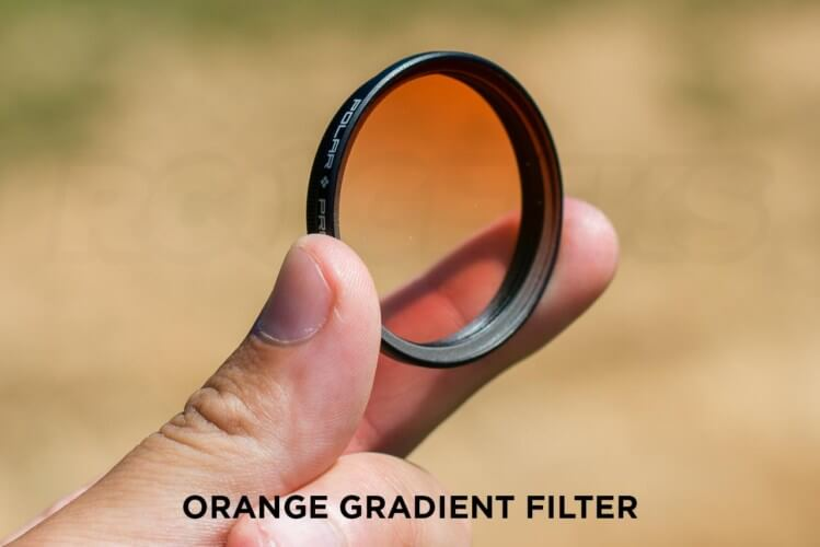 Polar Pro Orange Gradient Filter