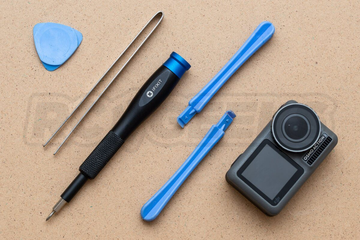 RCGeeks Osmo Action Teardown required tools