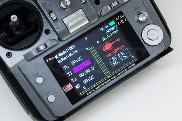 Radiolink AT10 ii colour lcd display telemetry