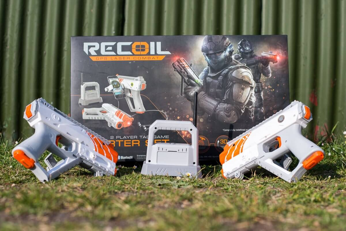 Recoil Multiplayer Augmented Reality Game Review Unboxing