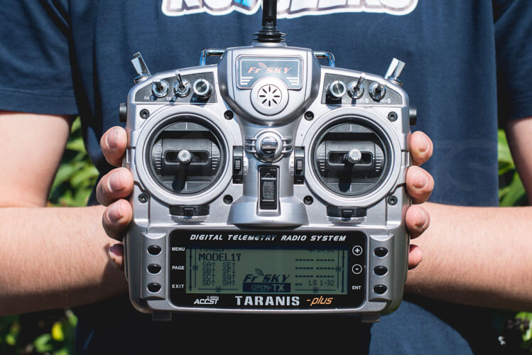 Taranis X9D Plus layout
