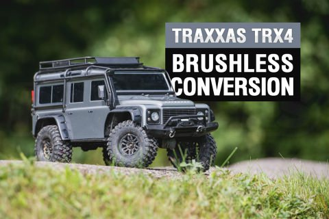 TRX-4 brushless conversion