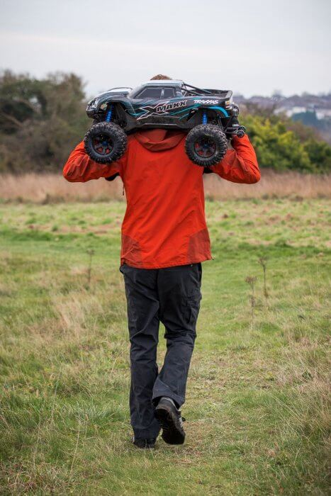 Traxxas X-maxx review carrying home