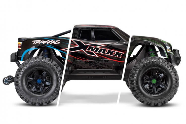 Traxxas X maxx review colour variation