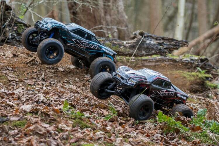 Traxxas X-maxx review trucks twin wheeling