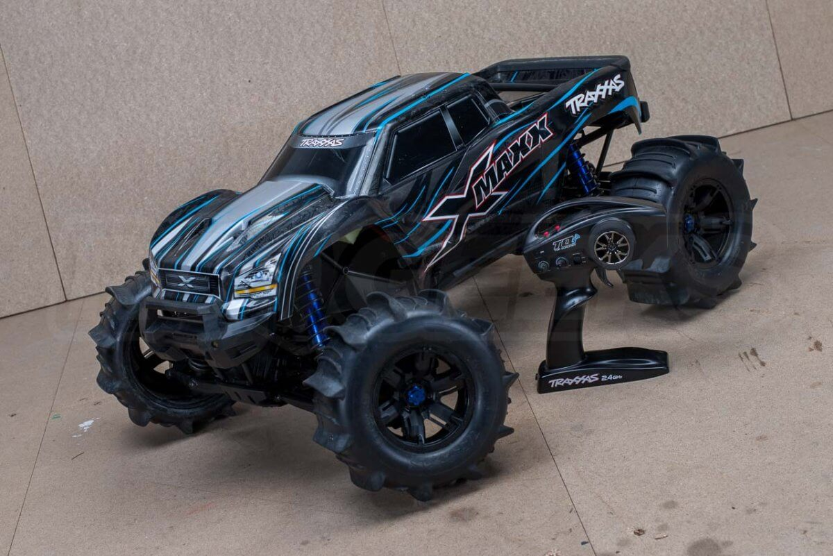 X-Maxx On Water Modifications ready to run